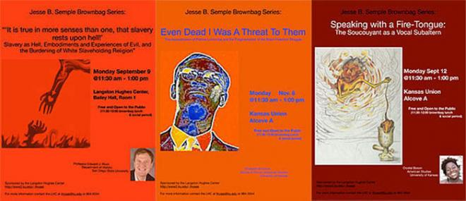 Semple Brownbag Series Event Flyer